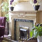 Coast and Country Lansdown Grove Hotel Fireplace