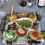 The 27 Euro tasting menu