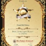Awarded The Best Boutique Hotel By Big Brand ..