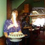 Gâteau d'anniversaire fait maison