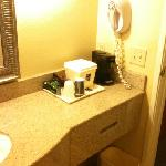 bathroom coffee maker