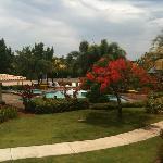 Una de las piscinas