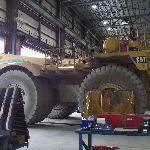 ONe of the large machinery