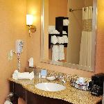 Our newly remodeled guest bathrooms are a little piece of heaven.