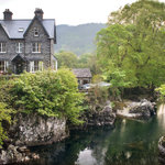 Bryn Afon Guest House - uniquely located overlooking the Pont-y-Pair bridge and waterfall