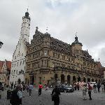 Main square and Rathaus