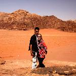 Me and my husband in Wadi Rum