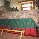 Bed in Albert's Glen-Yes you needed the step to get into bed!