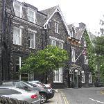 Facade of Old England Hotel