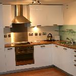 The Kitchen of our one Bedroom apartment in Southwestern House