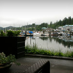 The  Marina from Patio View