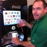 new soft drink dispenser at BK