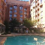 indoor/outdoor pool just great!