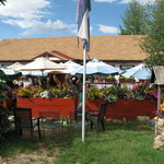 Arapahoe Cafe's patio