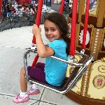 """My daughter LOVED all the rides she could go on. (39"""" tall)"""