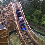 New wooden roller coaster