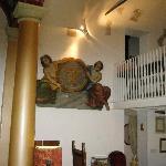 reception area & dining loft