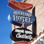 Overland Hotel Sign in Gardnerville, NV