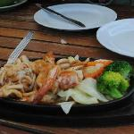 BBQ seafood at the Sailom
