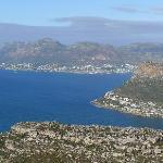 A view from our hike around Table Mtn.