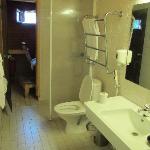 bagno con sauna cottage