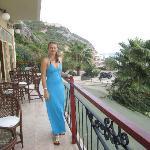 balcony at the hotel