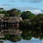 la maison les pieds dans l'eau