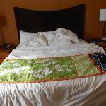 Het ruime bed