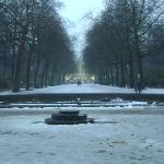Parque de Bruselas, Bélgica.