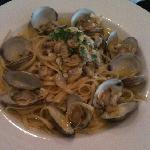 Awesome linguine and clams