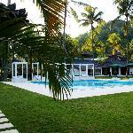 la piscine 10 x 10 m