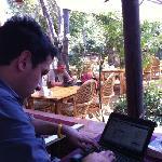 Boomerang Garden Restaurant Ephesus Foto