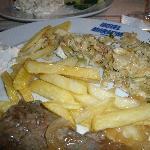 el plato de comida