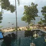 Aussicht von der Poolvilla