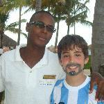 mi hijo con Candyman