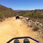 ATVing in AZ Desert