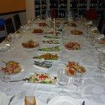 mesa de celebración