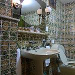 baño - lavabo y taza