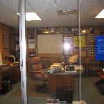 Sam Walton's office.