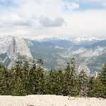 view from Sentinel Dome