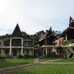 The main bungalows