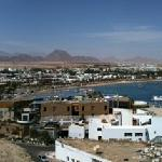 A view from high point in Sharm