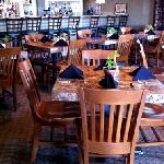 cozy bar dining