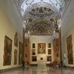 Sala V del Museo. Antigua iglesia del convento.
