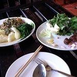 Luang Prabang sausage and aubergine & fish nam prik