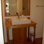 Private bathroom of the Renoir room