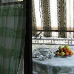 1^ colazione a Villa Bonyem