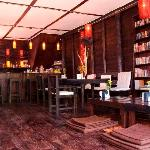 Mango House restaurant is located in a renovated opium den