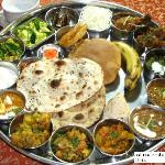 Popular  Maharaja Thali of joshi resort