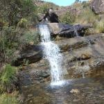 Waterfalls, rivers and little ponds along the way